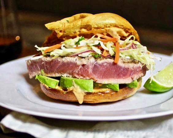 tuna sliders